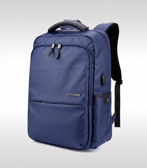 ARCTIC HUNTER Waterproof Oxford Blue Laptop Business Men Backpack