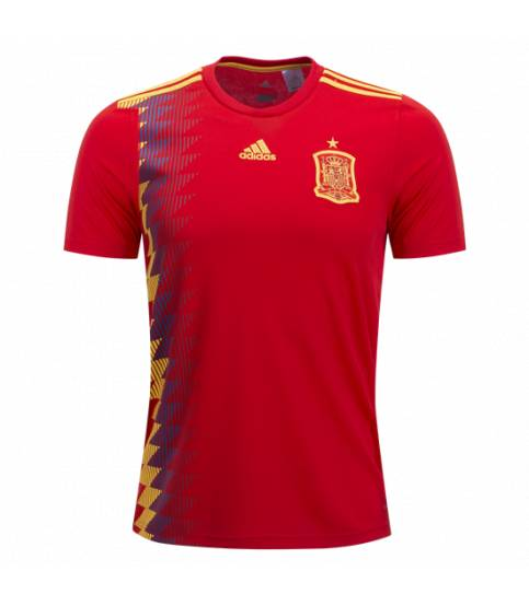 Spain Home Jersey World Cup 2018