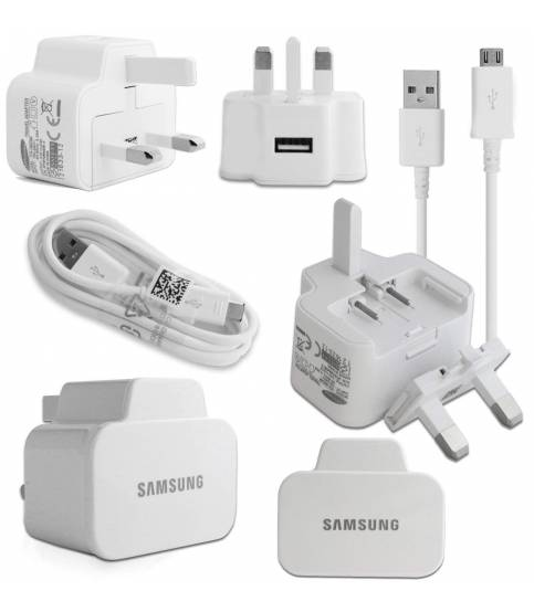 Samsung Wall Charger With Micro USB Data Sync Cable