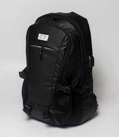 Xin Yuan Multi Functional Black V2 Waterproof Backpack