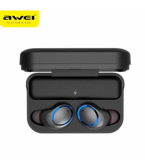Awei T3 True Wireless Earbuds With Charging Case