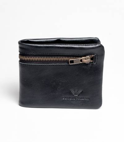 Giorgio Armani Black Orginal Leather