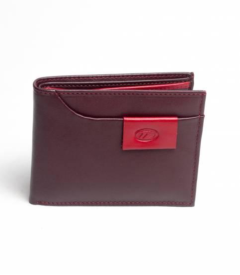 Tuba Chocolate Leather Wallet
