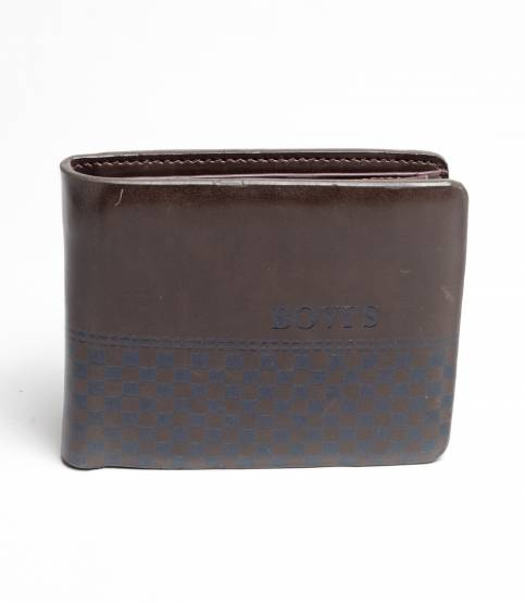 Bovi's Chocolate Leather Wallet