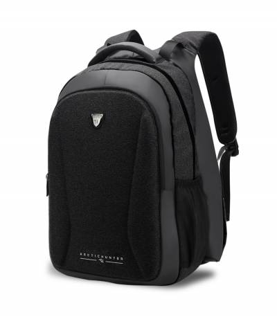 Arctic Hunter Hand Warm Anti Theft Black Backpack