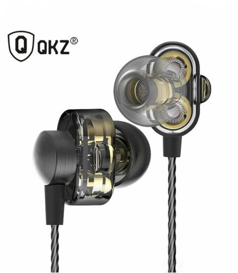 QKZ DM8 Dual Driver In-Ear Headphone