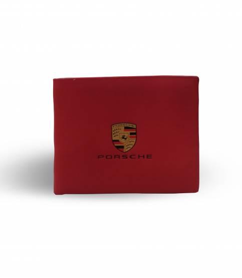 Porsche Red wallet