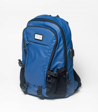 Xin Yuan Multi Functional Blue Waterproof Backpack