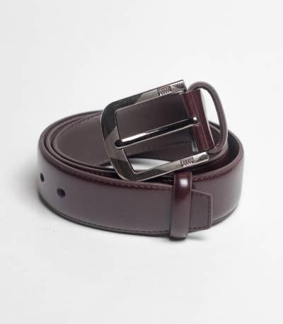 PU leather chocolate belt
