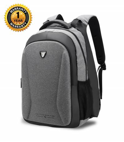 Arctic Hunter Hand Warm Anti Theft Gray Backpack