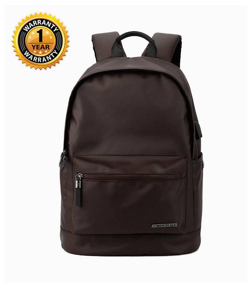 50bb00d7a3 Buy ARCTIC HUNTER Waterproof Oxford Brown Backpack In Bangladesh