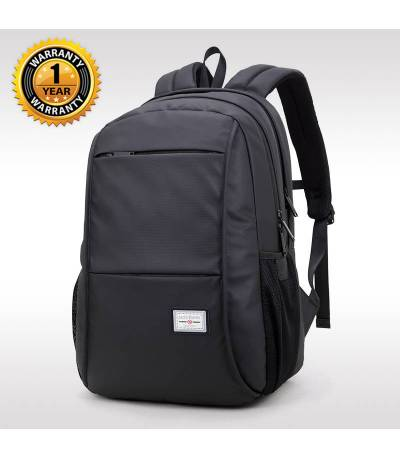 ARCTIC HUNTER Waterproof Black Laptop Bag