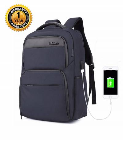ARCTIC HUNTER Waterproof Travel Blue Backpack