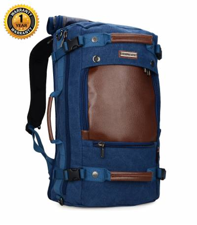 Witzman Men's Blue Travel Backpack