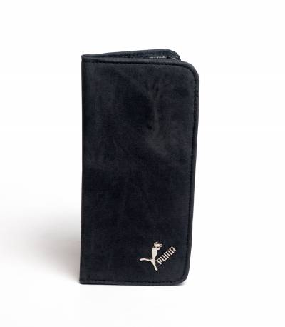 Puma Long Wallet Natural Black