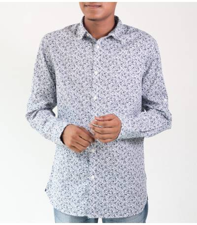 Jack & Jones Black Flower Print Shirt