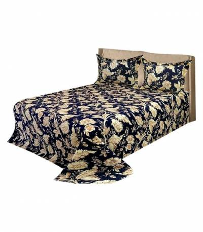 Home Tex King Blue Bedsheet
