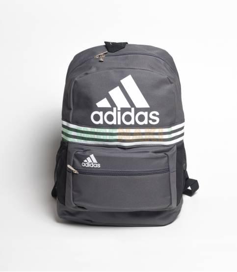 Adidas Black & White Stripes Backpack