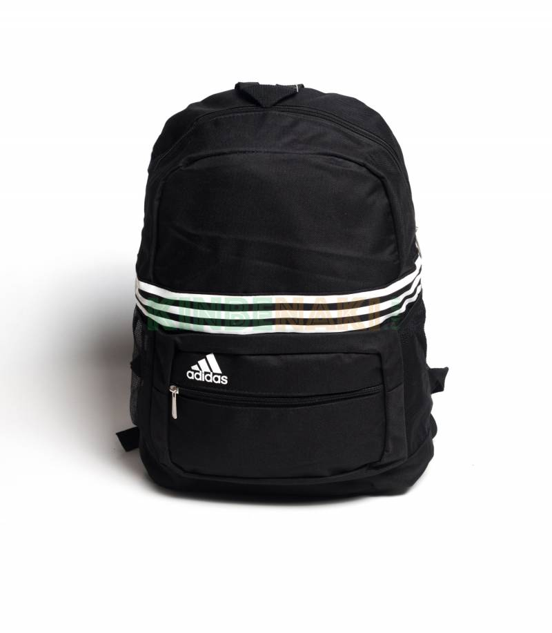 Buy Adidas Black   White Stripes Backpack In Bangladesh e0ee6ef0fe6a1