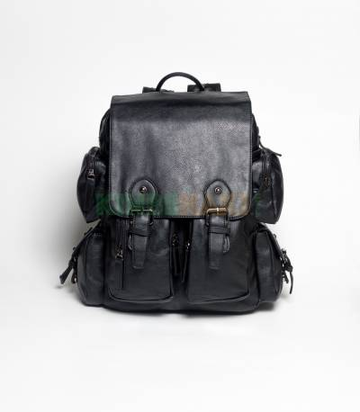 Langjie Brown Extra Carrier Backpack