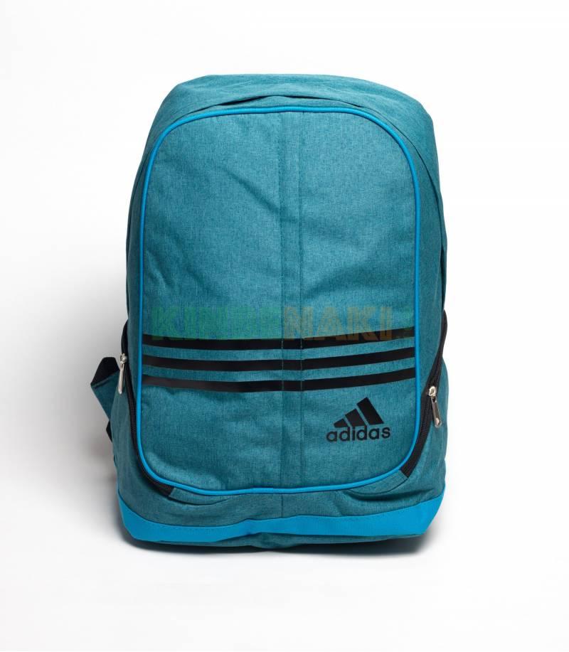 4c81659fdfc3 Buy Adidas Round Green   Black Stripes Backpack In Bangladesh