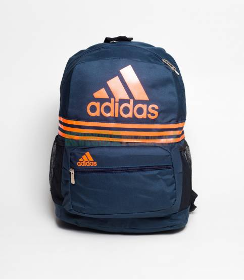 Adidas Ash & White Stripes Backpack