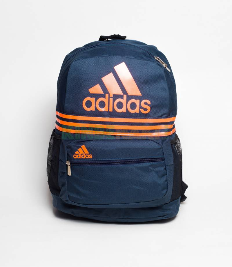 Buy Adidas Blue   Orange Stripes Backpack In Bangladesh 17653dd38a831