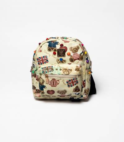 MCM Uk Darry Bear Mini Backpack