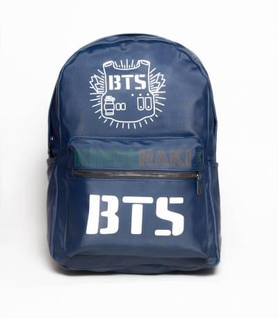 BTS Parachute Fabric Blue Backpack