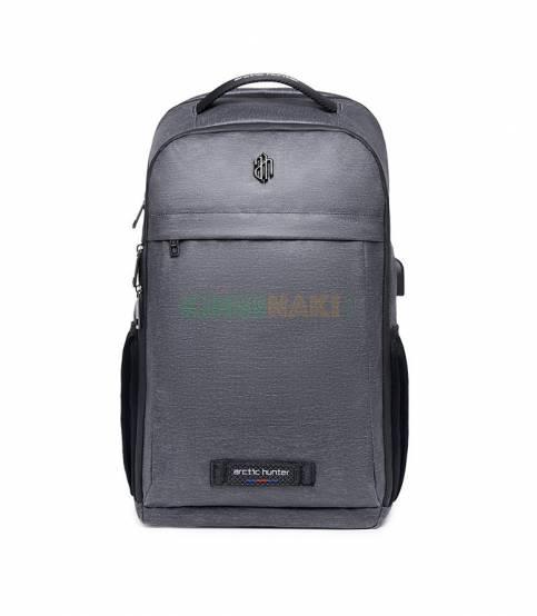 ARCTIC HUNTER Multifunctional Gray Travel Backpack