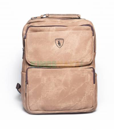 HALMABISON Light Brown Backpack
