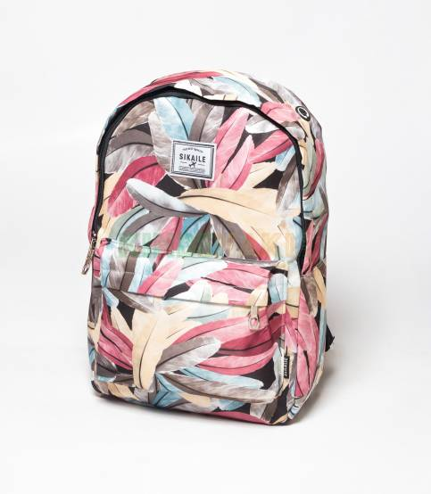 Sikaile Feather Backpack