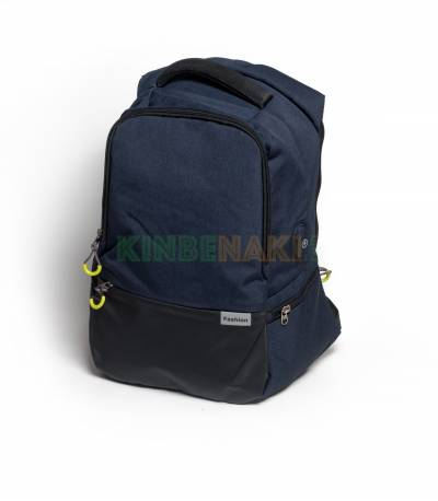 Fashion Anti Theft Black Backpack