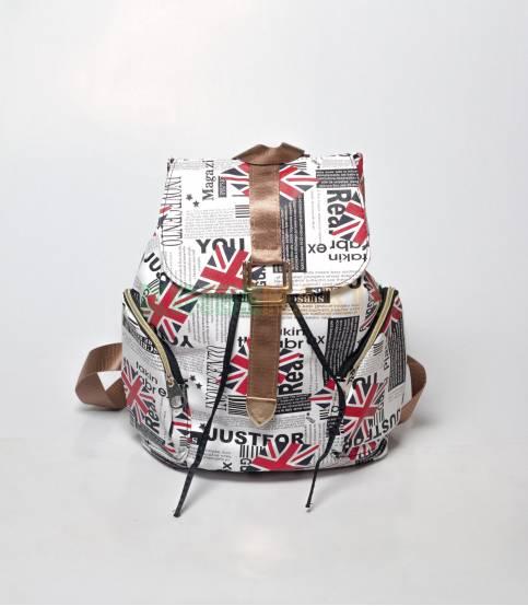 UK Just For Print BackpackFor Girls