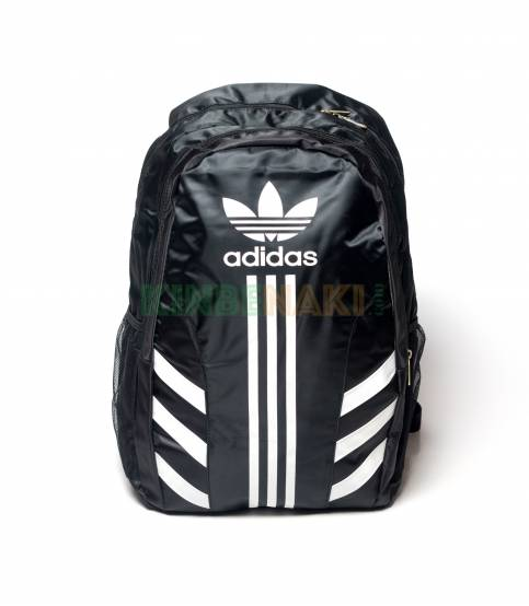 3-Stripes White Adidas Black backpack