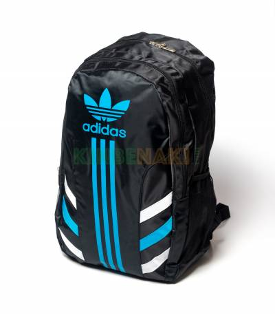3-Stripes Blue Adidas Black backpack