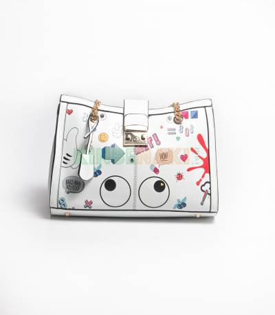 Girls Stylshis whtie Hand bag