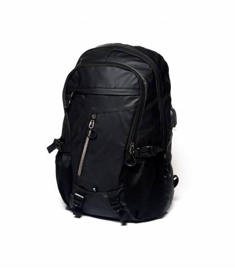 Xin Yuan Multi Functional Black Waterproof Backpack