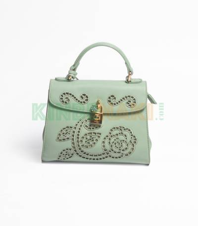 Susen Flower Green Hand Bag