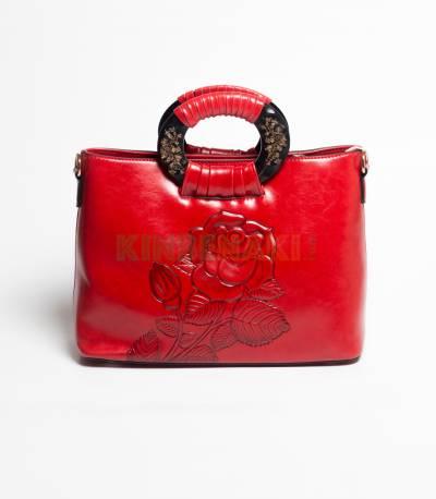 Lianhuier Red Hand Bag
