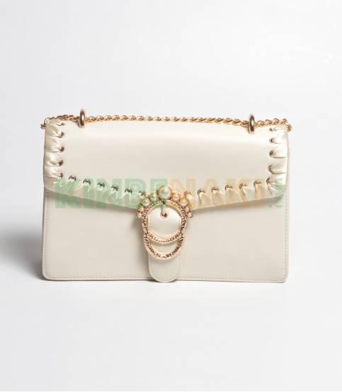 Susen Hand Purse white Bag