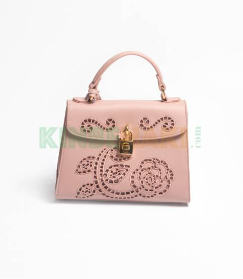 Susen flower Pink Hand Bag