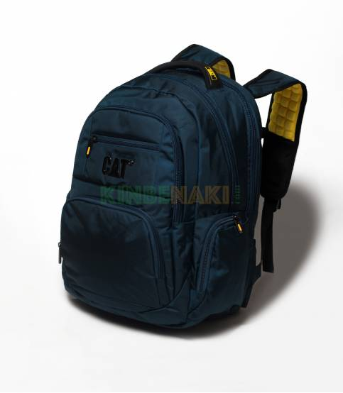CAT Navy Waterproof Laptop Backpack