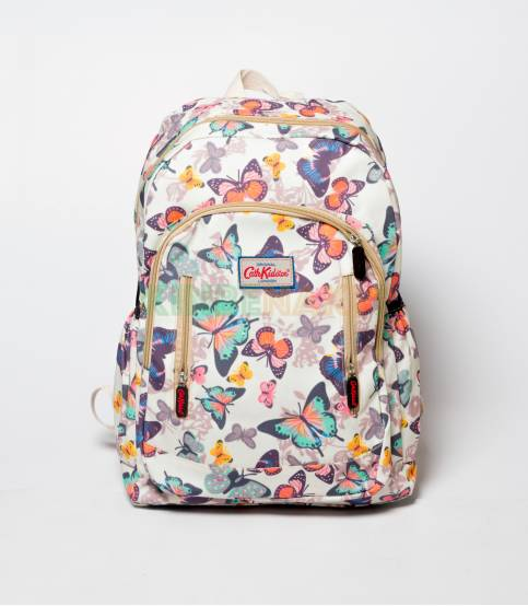CathKidston Off White Butterfly Backpack