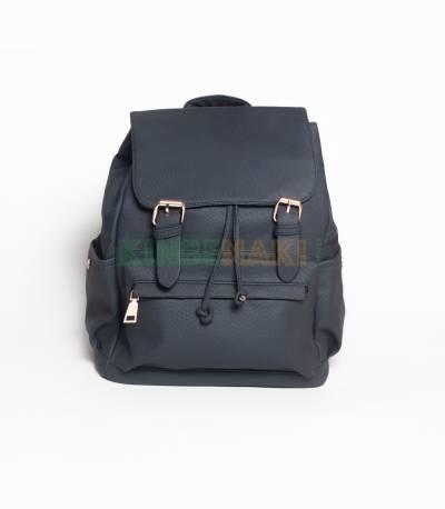 Hoodie Dark Blue Girls Mini Backpack