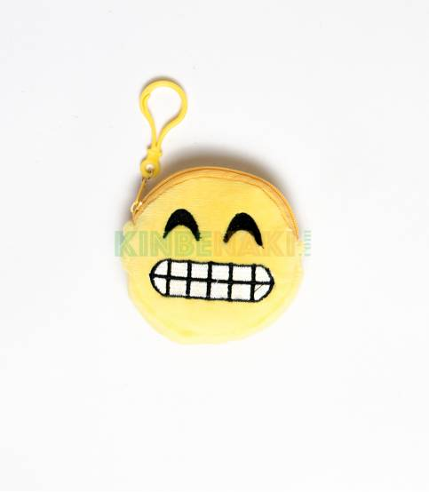 Emoji Key Ring And Small Pouch M6