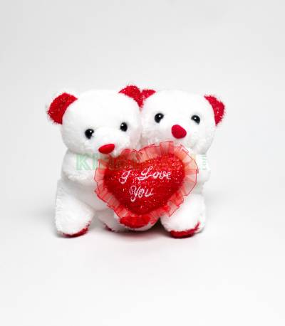 Teady Bear And Cute Love Pillow (Musical)