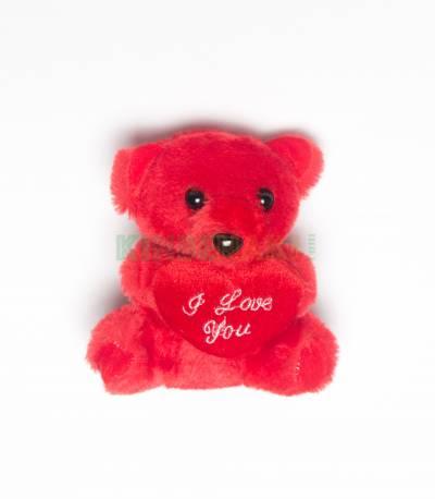Teady Bear And Cute Love Pillow