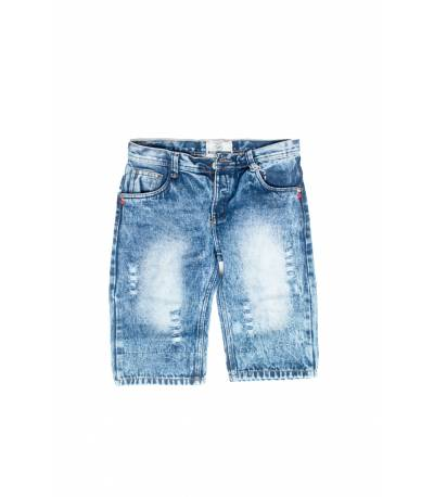 Light Blue Men Summer Short Jeans