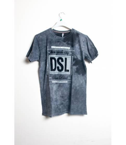 DSL Blue Blood Grey T-Shirt